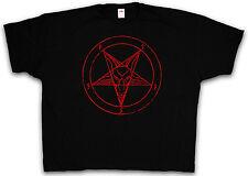 4XL & 5XL BAPHOMET PENTAGRAM T-SHIRT - Pentagramm Satan 666 T-Shirt XXXXL XXXXXL