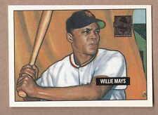 Willie Mays 1997 Topps ML Baseball Reprint Card #1 1951 Bowman