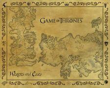 Game of Thrones Mini Poster Antique Map 40x50cm