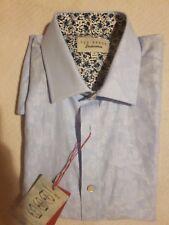 Ted Baker Long Sleeves Endurance Timeless/ Sterling Shirt | Size 16(34/35)