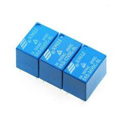 5V/12V/24V 3A Songle Relay 4100 6 Pin SPDT DC Coil SRS-DC-SL Household Appliance