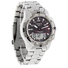Tissot T-Touch II Mens Carbon Fiber Dial Titanium Watch T047.420.44.207.00