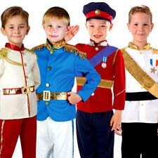 Royal Prince Boys Fancy Dress Book Day Week Fairy Tale Kids Childrens Costume