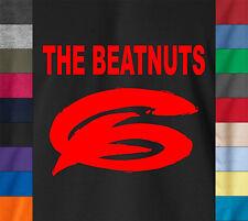 HipHop THE BEATNUTS T-Shirt Old School Retro Rap DJ Mc Beat Big Pun Nas Logo Tee
