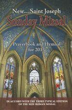 New Saint Joseph Sunday Missal Prayerbook & Hymnal for 2013 (Paperback) CC425