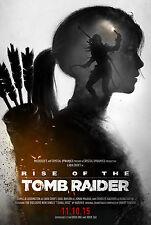 Rise of the Tomb Raider Game Poster |5 Sizes| #2 xboxone 360 PS4 Lara Croft PC