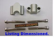 CNC 30mm BAR RAISERS RISERS FOR Yamaha  XJ 600 900 Diversion XJR 1200 1300