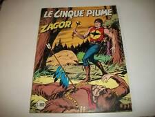 ZAGOR ZENITH GIGANTE CEPIM-NUMERO 281-LE CINQUE PIUME