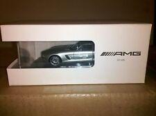 SCHUCO Mercedes-Benz SLS AMG Silver 1:43 Dealer **Nice**