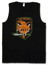 FOXHOUND LOGO TANK TOP Symbol Big Boss Metal Gear PC Game Solid Fox Hound Snake