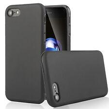 iPhone 7 7Plus Case, Full Matte Soft Touch Slim-Fit Flexible TPU Case + 3D Glass