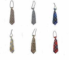 6 Elegant Desgin Plaid Color 1x kid's tie Tuxedo Suit Tie for Children