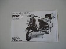 advertising Pubblicità 1982 FACO e VESPA PX 125 E