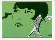 Guido Crepax Postcard: Louise Brooks 'aiuto!' (France, 1985)