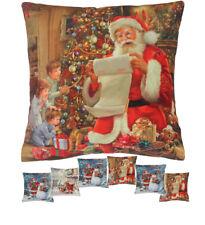 Weihnachten Kissenbezug Kissenhülle mit verschiedenen Fotodruck-Motiven