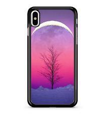 Cold Rosa Mística árbol impresionante escenario Sunset 2D Teléfono Estuche Cubierta