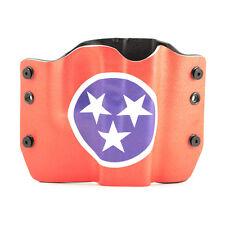 HK, Kel-Tec, Kahr, Kimber, Tennessee Flag, OWB Kydex Gun Holsters.