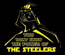 Darth Vader Pittsburgh Steelers Power shirt Star Wars Big Ben Le'veon Bell Brown