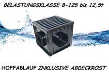 Kunststoff Hofeinlauf inkl. Gussrost Kl. B-125 bis 12,5 t