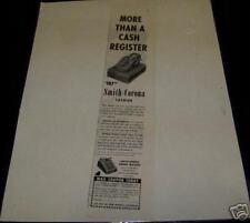 Vintage Original Ad Art SMITH CORONA CASHIER REGISTER