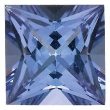 Natural Fine Blue Violet Tanzanite - Square Princess - Tanzania - AA+ Grade