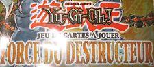YU-GI-OH! FORCE DU DESTRUCTEUR FOTB ⓃⒺⓊⒻ 1 ére édition & UNLIMITED EN FRANCAIS