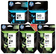 Original HP 338+343 DRUCKER PATRONEN PhotoSmart C4180 D5160 C3180 PSC 1500 1510