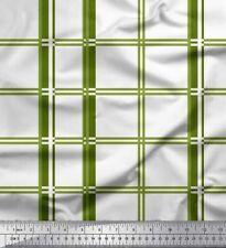 Soimoi Fabric Window Pane Check Decor Fabric Printed Meter-CH-63E