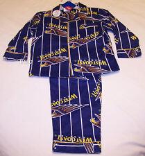 West Coast Eagles AFL Boys Flannel Pyjama Set Size 4 New
