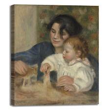 Renoir Gabrielle and Jean design quadro stampa tela dipinto telaio arredo casa