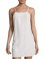 Onia Sasha White Eyelet Swimsuit Coverup Dress Extra L NWT Large XL