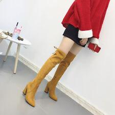 stivali stivaletti beige morbidi ginocchio coscia tacco 10 cm stiletto alti 9610