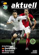 EM-Qualifikation 02.09.2011 Deutschland - Österreich