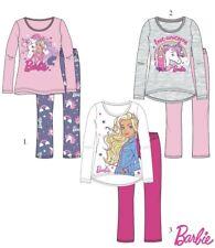 6dfa3e0be4 Chicas Disney Barbie Manga Larga Pijama Conjunto 2-8 años