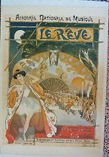 THEOPHILE-ALEXANDRE STEINLEN - Original Vintage Poster - Le Reve - 1890
