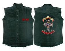 Official Guns N' Roses - Appetite For Destruction - Sleeveless Work Shirt
