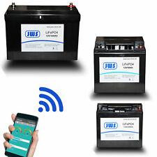 Lithium LiFePO4 Solar Batterie 12V Bluetooth Akku 20ah 50ah 100ah Yacht
