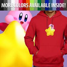 Kirby Super Star Nintendo Video Game Graphics Pullover Sweatshirt Hoodie Sweater