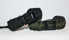 Adjustable Double Cobra Braid Paracord Bracelet w/ Bottle Opener - Made in USA