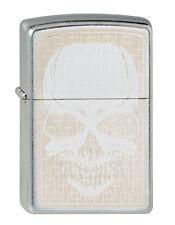 Zippo Hidden Skull Totenkopf auf Wunsch mit persönlicher Gravur 2002027 Neu