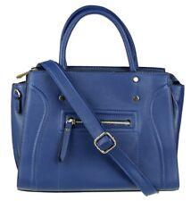 Nuevo Cremallera Frontal imitación de cuero bolso de oficina de Diseñador Top Handle Bag De Gran Tamaño