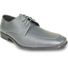 ALLURE MEN  AL01 Dress Shoe Formal Tuxedo Prom & Wedding Steel Grey