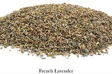 French Lavender Dried Flowers, Tea Bath Salts Soap Candle Potpourri Sachet