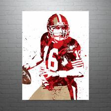 Joe Montana San Francisco 49ers Poster FREE US SHIPPING