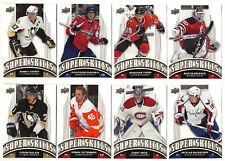 2008-09 Upper Deck Super Skills - Complete Set - 20 Cards