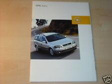 14590) Opel Astra Prospekt 2002
