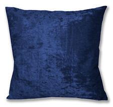 Mv19a Blue Shiny Diamond Crushed Velvet Cushion Cover/Pillow Case Custom Size