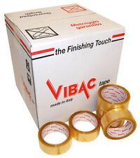 vibac 830 TRANSPARENT solvant mise en carton emballage Bande, 48mm x 66m,