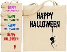 Happy Halloween Spinne Groß Baumwoll-tragetasche Cool - Gruselige Gejagter