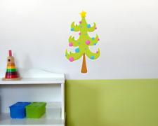 Weihnachtsbaum Wandtattoo Wandaufkleber Kinderzimmer  5 Größen